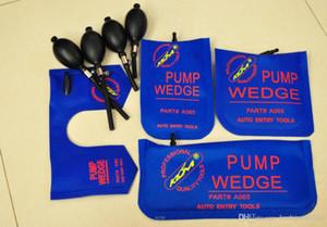KLOM 펌프 WEDGE 자물쇠 도구 자동 에어 웨지 에어백 잠금 설정을 엽니 자동차 도어 잠금 블루 S / M / L / U의 4 개 / 많은 선택