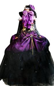 Кукукозский вокалоид Hatsune Miku Megurine Luka Halloween Party Dress Cosplay Costume