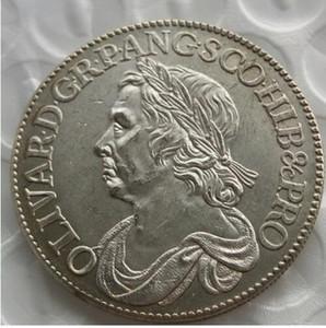 Réplica 1658 Grã-Bretanha 1/2 coroa britânica Frete grátis