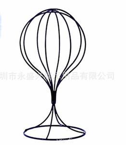 Métal Tête De Tête Mannequin Art Chapeau Stands pour Chapeau Rack Magasin Perruque Styling Cheveux Accessoires Affichage Tête Modèle