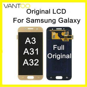 Full Original LCD Display Mit Touchscreen Digitizer Assembly Für Samsung Galaxy A3 A31 A310 A32 A320 A3 2016 A3 2017 Freies DHL