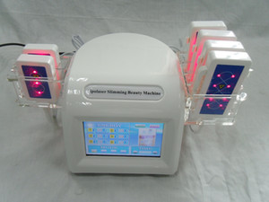 160mw / Diode Laser Machine Lipo 10 Pads LLLT Therapy Laser Body Fat Cellulite Removal Spa Slimming Machine