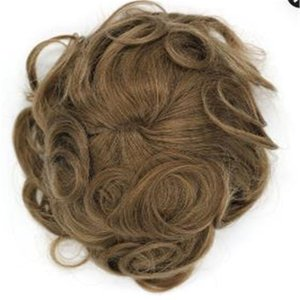 New arrival 6inch brazilian short men hair brown color thin skin toupee hair replacement free shipping