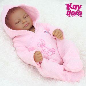 25 см 10 дюймов полный силиконовые Reborn Baby куклы живой реалистичные реальные куклы реалистичные сна Reborn младенцев девочек игрушки подарок на День Рождения