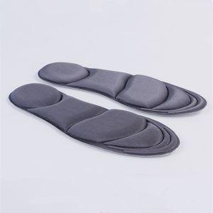 4D plantilla de rebote lento transpirable sudor desodorante almohadilla del pie desodorante suave amortiguación lentas plantillas de masaje de rebote