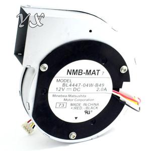 11028 ventilador de ventilador centrífugo da turbina de 12V 2A BL4447-04W-B49 110 * 110 * 28mm