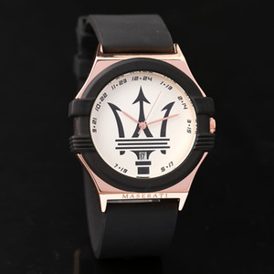 Casual Kuvars İzle Menes Kadınlar Üst maserati Paslanmaz Çelik Saatler Relojes Hombre Horloge Orologio Uomo Montre Homme SPROT İZLE
