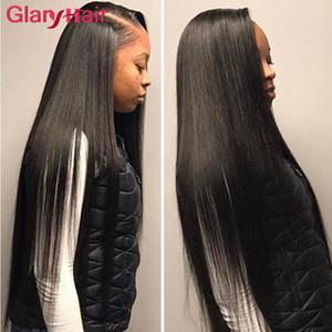 Venta al por mayor Glary Mink brasileño de pelo recto teje peruano de Malasia indio camboyano paquetes de cabello humano Remy Extensiones de cabello doble tramas