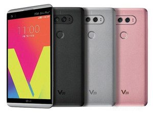 Оригинал LG V20 H910 H918 VS995 4 ГБ / 64 ГБ 5.7 дюймов Двойная 16-мегапиксельная + 8-мегапиксельная камера Android OS 7.0 Восстановленное разблокированный мобильный телефон