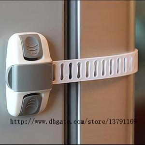 Multi-function Safety Lock Baby Child Kid Toddler Plastic Lock Fridge Cupboard Cabinet Wardrobe Door Drawer Toilet Lock 1 Pc