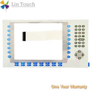 NEU PanelView Plus 1000 2711P-K10C4D1 2711P-K10C4D2 HMI-SPS Folientastatur mit Folientastatur Zum Reparieren der Maschine über die Tastatur