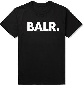 2017 lever d'un t-shirt balr tops t-shirt balr menwomen 100% coton football football sportswear chemises de gymnastique BALR vêtements de marque