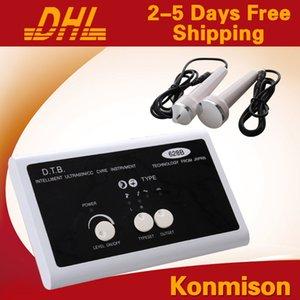 Mini uso domestico 2 in 1 macchine facciali di ultrasuono per la macchina ultrasonica di rimozione della grinza degli occhi di lifting facciale Trasporto libero del DHL