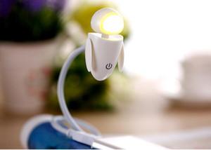 120 stücke Flexible Helle LED USB Mini Roboter Licht Lampe Für Laptop PC Schreibtisch Lesen Gelb Weiß 0001