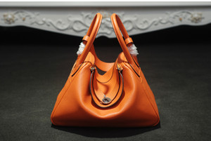 Hot estilo 2017 de alta qualidade mulheres bolsas de couro genuíno famoso designer de marca bolsas de ombro para as mulheres dois bolsa de ombro popular saco de totes