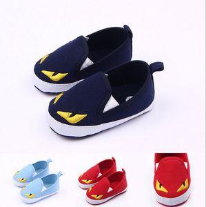 العلامة التجارية الجديدة أحذية أطفال أحذية Prewalker كارتون بنات الحيوان بنين الأطفال الصغار الأخفاف Bebes الطفلية Sapatos الأولى حمالات الوليد