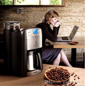 DCM-208 Full máquina de café automática em casa / negócio nova geração inteligente indução cafeteira espresso 10 xícaras uma vez