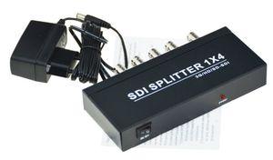 4 Portas 1 x 4 SDI Splitter 3G HD SD SDI Amplificador de Distribuição de Vídeo 1080 P SD-SDI, HD-SDI, 3G-SDI todo o formato do sinal SDI