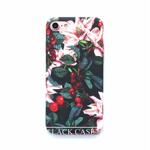 Cute Cartoon Flowers Floral Plastic Hard Phone Cases Back Cover Coque Funda For iPhone 6 Case For iphone 6S 7 7 Plus Capa