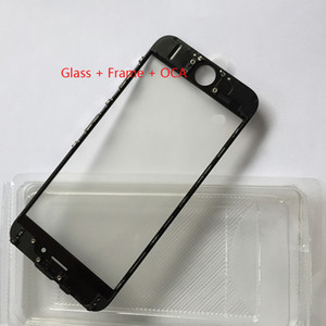 Touch Screen Outer Glass Lens with Cold Press Middle Frame with OCA installed for iPhone 6 6s 6 plus 6s plus