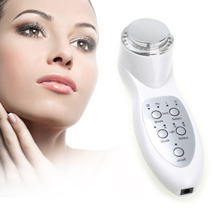 3Mhz portátil ultrasónico 7 LED luces de fotones Sonic Lifting Lifting Lifting cuidado de la piel limpiador removedor de arrugas Facial Beauty Massager