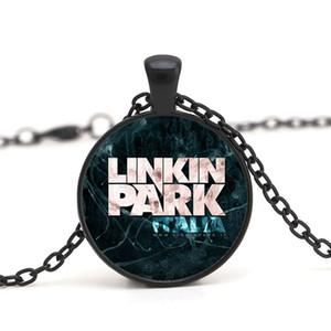 DIY Linkin park Logo Hayranları Kolye Takı 25 MM Dome Cam Lincoln Parkı Kolye Kolye Erkekler Kadınlar Için Hediyeler Avrupa Ve Amerikan Tarzı