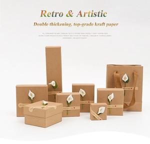 DHL Scatole di gioielli artistico retrò all'ingrosso di trasporto libero DHL con scatole regalo per bracciale braccialetto collana orecchini cuscini con cuscini