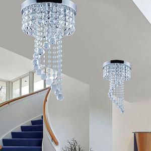 20/25 cm Lampadario di Cristallo Illuminazione a Soffitto lampadario sfera di cristallo Montaggio A Soffitto Lampada Luce di Soffitto per Corridoio Scale Corridoio Luci Portico