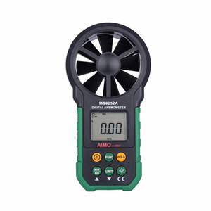 Freeshipping aimometer 고품질 디지털 풍력계 풍속 공기 체적 측정기 LCD 가져 오기