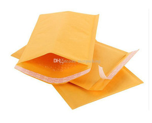 Kraft Bubble Mailers Envelopes Wrap Bags Padded Envelope Mail Packing Pouch Free Shipping mini order 50pcs