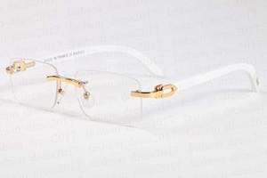 soleil corne de buffle nouveau 2020 lunettes de soleil rétro sport de mode pour la mode masculine cadre cerclées demi et lentille claire viennent avec la boîte