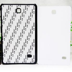 الدرجة العالية PC البلاستيك الصلب 2D التسامي DIY نقل الحرارة فارغة غطاء باد القضية للحصول على تبويب GALAXY مع لوحات الألومنيوم