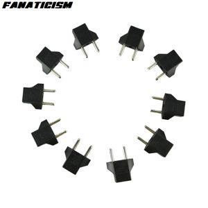 Fanatismo carregador universal AC Energia Elétrica Plugue Adaptador Conversor European Travel US Para Plug Adapter UE Plug Transferência