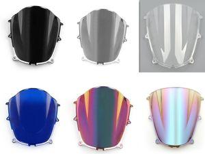 Para Honda CBR600RR 2005-2006 Windshield WindScreen Dupla Bolha ABS