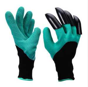 Garden Genie Gloves With 4 Claws Built In Claws Easy Way To Garden Digging Planting Gloves Waterproof Resistant To Thorns