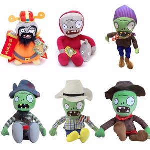 Nueva llegada Plants vs Zombies Peluches Juguetes de peluche 30cm DIY PVZ Zombies Peluche de juguete para niños Niños Regalos de Navidad