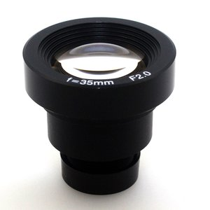 1/3 35mm CCTV Lens IR MTV m12 Soporte F2.0 para cámaras de CCTV de video de seguridad