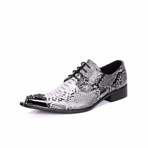 Ручной Oxfords Аллигатор кожи крокодила обувь Мужчины Мода Кружева-Up платье Обувь Бизнес стиль Свадебная обувь