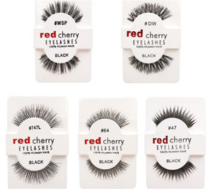 10 styles RED CHERRY False Eyelashes Fake Eye Lashes long and vol A105