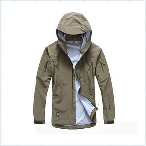 men jacket military clothing hardshell hunting clothes camouflage army autumn jacket and coat for men multicam windbreaker coat