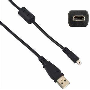 USB UC-E6 Kabel für Nikon Coolpix L1 / L2 / L3 / L4 / L5 USB 2.0 A Stecker auf Mini 8-polige flache Male Kamera Kabel