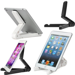 360 Degree Rotating Folding Universal Tablet PC Stand Holder Folding Lazy Support For iPad Air Mini 1 2 3 4