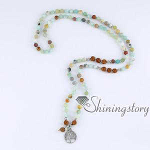 108 Mala Perlenkette bodhi Samen tibetischen buddhistischen Gebetskette Mala Armband Meditation Halskette Baum des Lebens Anhänger buddhistischen Rosenkranz