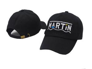 2017 Bordado Martin Show Bnciaga Sombreros para Hombres Mujeres Gorra de Béisbol Gorra de Sol Martin Show Golf Sport Cap Hombres Casquette Gorras