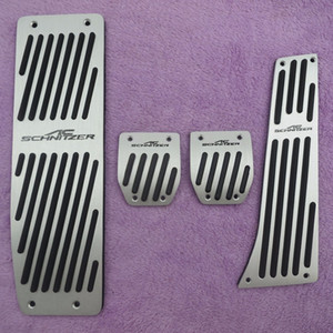 Accesorios para BMW serie 5 E30 3 E32 E34 E36 E38 E39 E46 E87 E90 E91 X5 X3 Z3 MT / AT cojines del pedal de la cubierta pegatinas de coches de estilo
