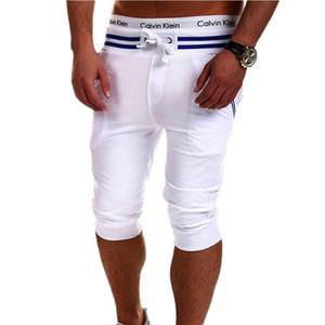 Atacado-venda quente calções sólidos homens pantalones pantoas pantacourt homme homme bermuda Shorts homme marque calções slim fit homens