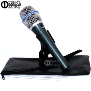 무료 배송 BETA87C BETA 87C 유선 다이나믹 마이크로폰 전문 Microfono 보컬 마이크 Beta87A Beta 87 카디오이드 이동 코일 Mike Microfone