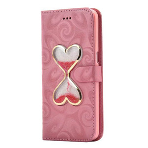 Luxury Retro Leather Wallet Phone Bags Case For Samsung S7 S6 S5 for J7 A5 A310 A7 A8 Double Heart Leather Cover Purse