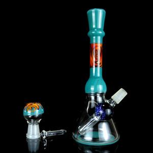 Huile plate-forme gifle dab plates-plates bongs bangs bon verre bong bon marché boucles d'eau en verre fumant des bangs d'eau