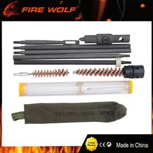 Kit di pulizia per fucile da caccia FIRE WOLF Set di custodia per la custodia di pulizia modello M1 con oliatore per la caccia
